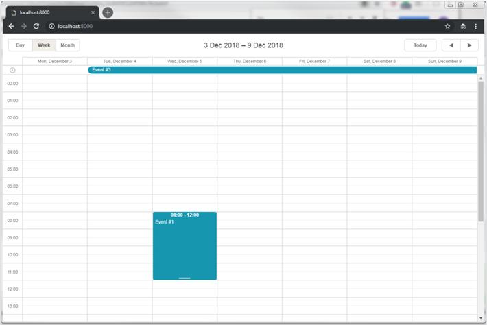 dhtmlxScheduler with PHP:Laravel Scheduler Docs