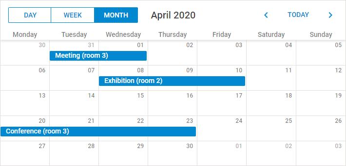 DHTMLX Scheduler Demo