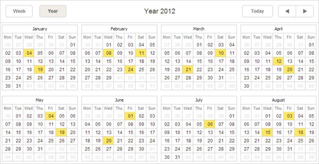 year view scheduler docs